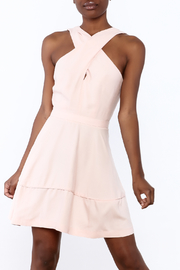 Hommage Blush Sleeveless Dress - Product Mini Image