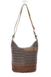 MarkWEST-Myra Bag Honey Bee Print Shoulder Bag - Product Mini Image