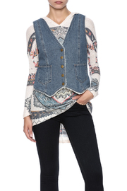 honey belle Denim Vest - Product Mini Image
