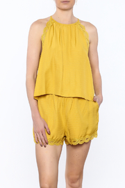 honey belle Mellow Yellow Top - Product Mini Image