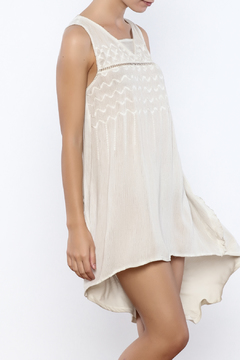honey belle Taupe Tunic - Product List Image