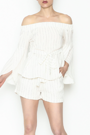 honey belle Striped Top - Product Mini Image