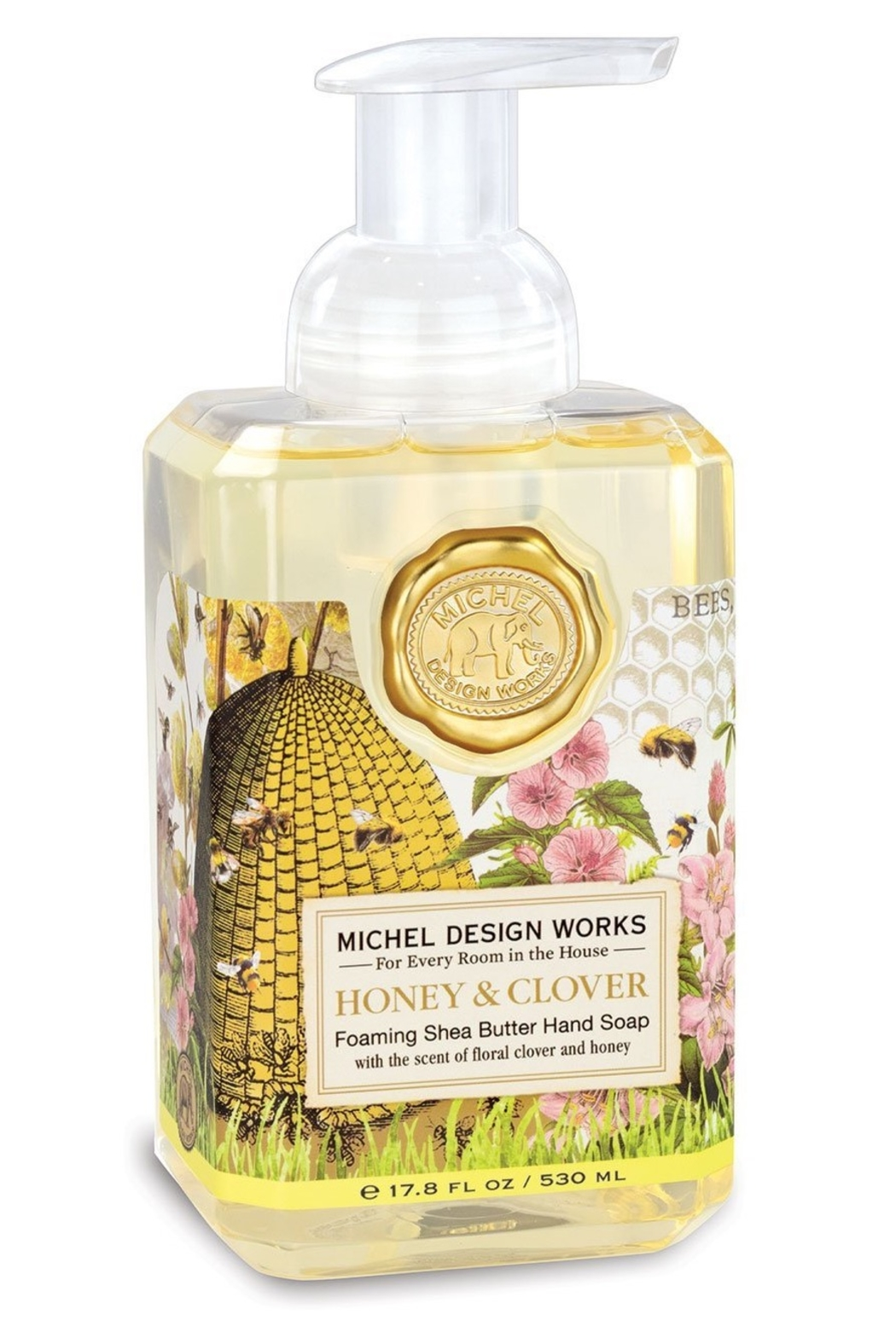 Michel Design Works Honey & Clover Foamer - Main Image