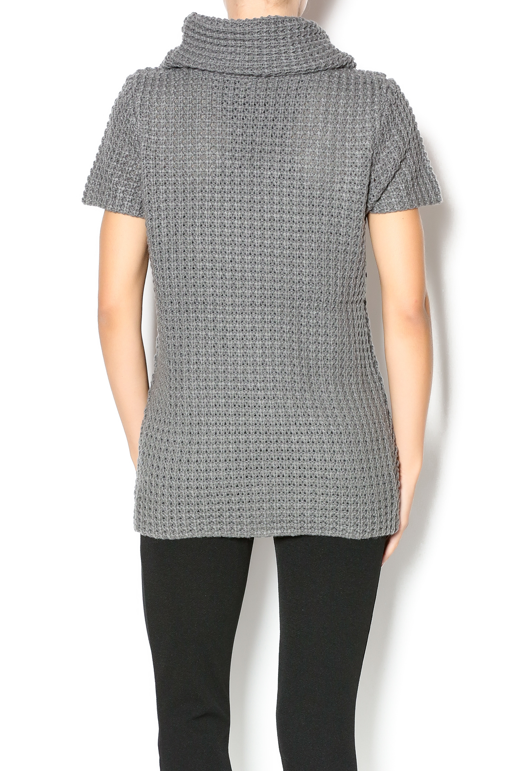 Honey Lee Gray Knit Sweater from Michigan by Glitz & Spurs ...