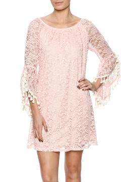 Honey Me Pink Lace Tunic - Product List Image