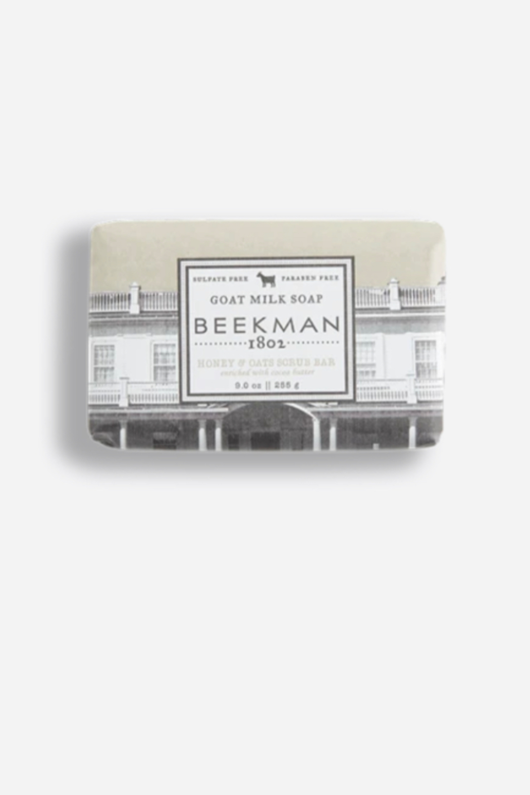Beekman 1802 Honey & Oats Goat Milk Soap - Front Cropped Image