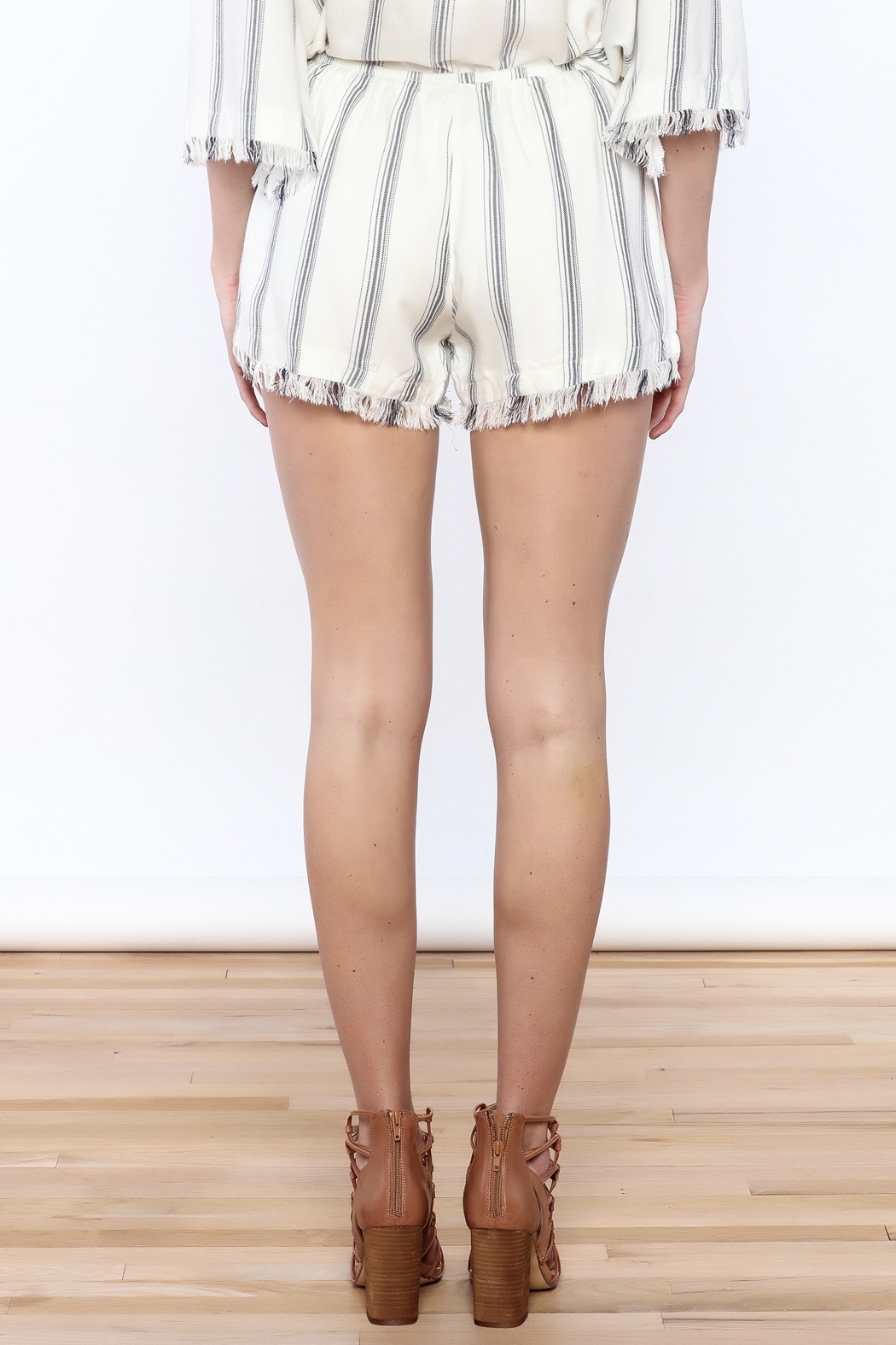 Honey Punch Anchors Away Short - Back Cropped Image