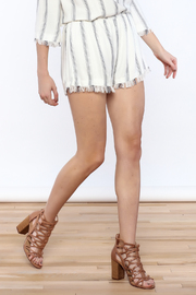 Honey Punch Anchors Away Short - Front cropped