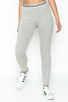 Honey Punch Athletic Stripe Pants - Product List Image