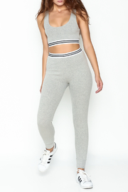 Honey Punch Athletic Stripe Pants - Side cropped