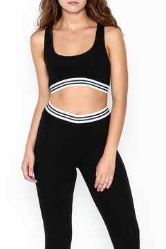Honey Punch Athletic Stripe Sports Bra - Product List Image