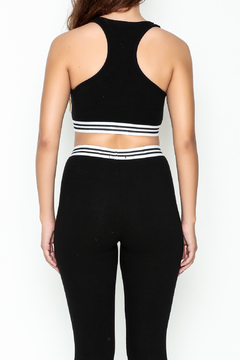 Honey Punch Athletic Stripe Sports Bra - Alternate List Image
