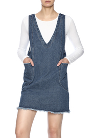 Honey Punch Boho Denim Dress - Product Mini Image