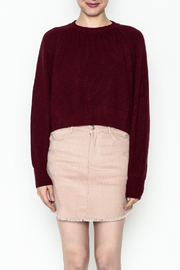 Honey Punch Crop Sweater - Front full body
