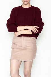 Honey Punch Crop Sweater - Product Mini Image