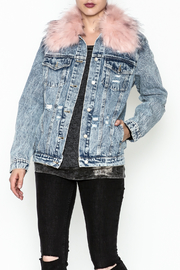 Honey Punch Denim Jacket - Front cropped