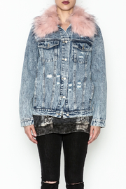 Honey Punch Denim Jacket - Front full body