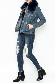 Honey Punch Denim Jacket - Side cropped