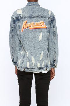 Shoptiques Product: Distressed Denim Jacket