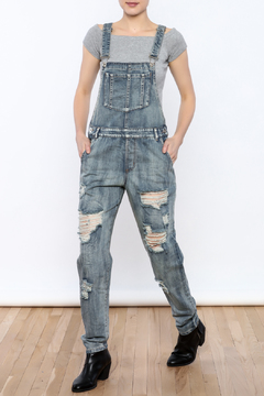 Shoptiques Product: Distressed Overalls