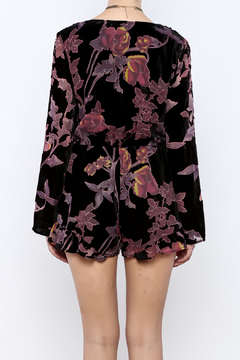 Shoptiques Product: Evelyn Velvet Romper