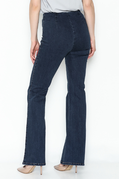 Honey Punch Flared Denim Pants - Alternate List Image