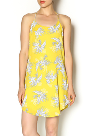 Honey Punch Floral Halter Dress - Product Mini Image