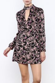 Honey Punch Floral Print Dress - Product Mini Image