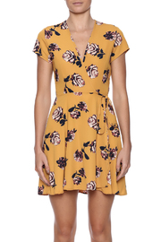 Honey Punch Floral Wrap Dress - Side cropped