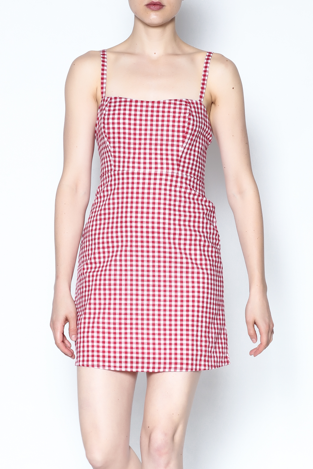 ed293713b2a Honey Punch Gingham Cami Dress from New York by Dor L Dor — Shoptiques