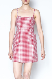 Honey Punch Gingham Cami Dress - Product Mini Image