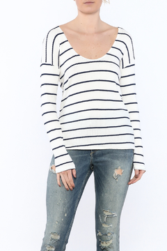 Shoptiques Product: Knit Striped Sweater