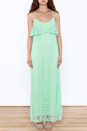 Honey Punch Lace Maxi Dress - Front full body
