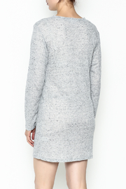 Honey Punch Long Sleeve Thermal Dress - Back cropped