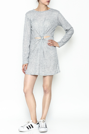 Honey Punch Long Sleeve Thermal Dress - Side cropped