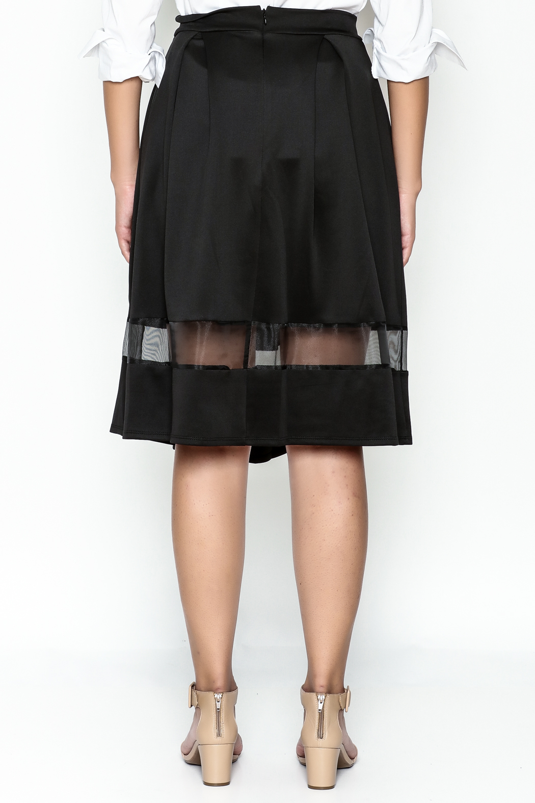 Honey Punch Lucy Skirt - Back Cropped Image