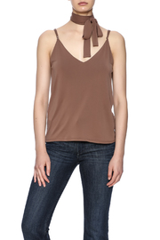 Honey Punch Mocha Tank With Choker - Product Mini Image