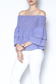 Honey Punch Off Shoulder Top - Product Mini Image