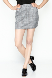 Honey Punch Plaid Skirt - Front cropped