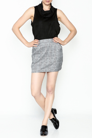Honey Punch Plaid Skirt - Side cropped