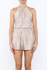 Honey Punch Playful Poolside Romper - Side cropped