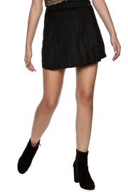 Honey Punch Pleated Skirt - Front cropped