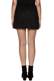 Honey Punch Pleated Skirt - Back cropped