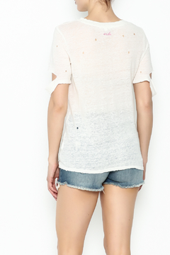 Honey Punch Ripped Sleeve Tee - Alternate List Image