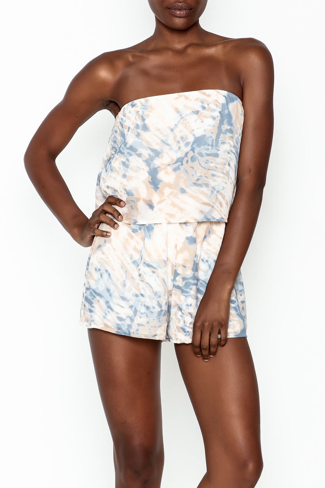 Honey Punch Romper - Front Cropped Image