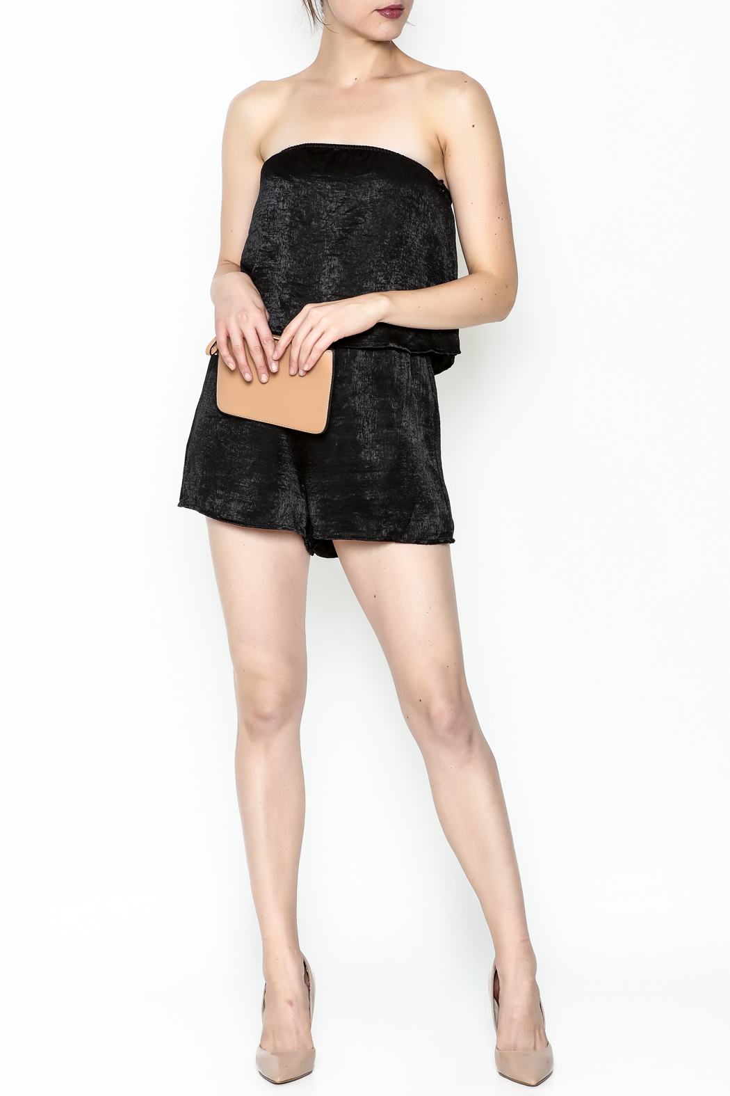 Honey Punch Romper - Side Cropped Image