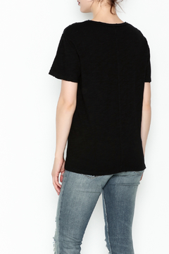 Honey Punch Round Neck Distressed Tee - Alternate List Image