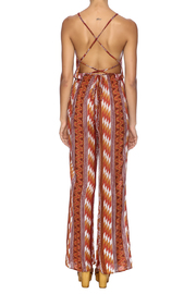 Honey Punch Rust Jumpsuit - Back cropped