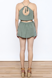 Honey Punch Sage Summer Set - Back cropped
