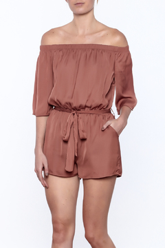 Honey Punch Smooth Move Romper - Product List Image